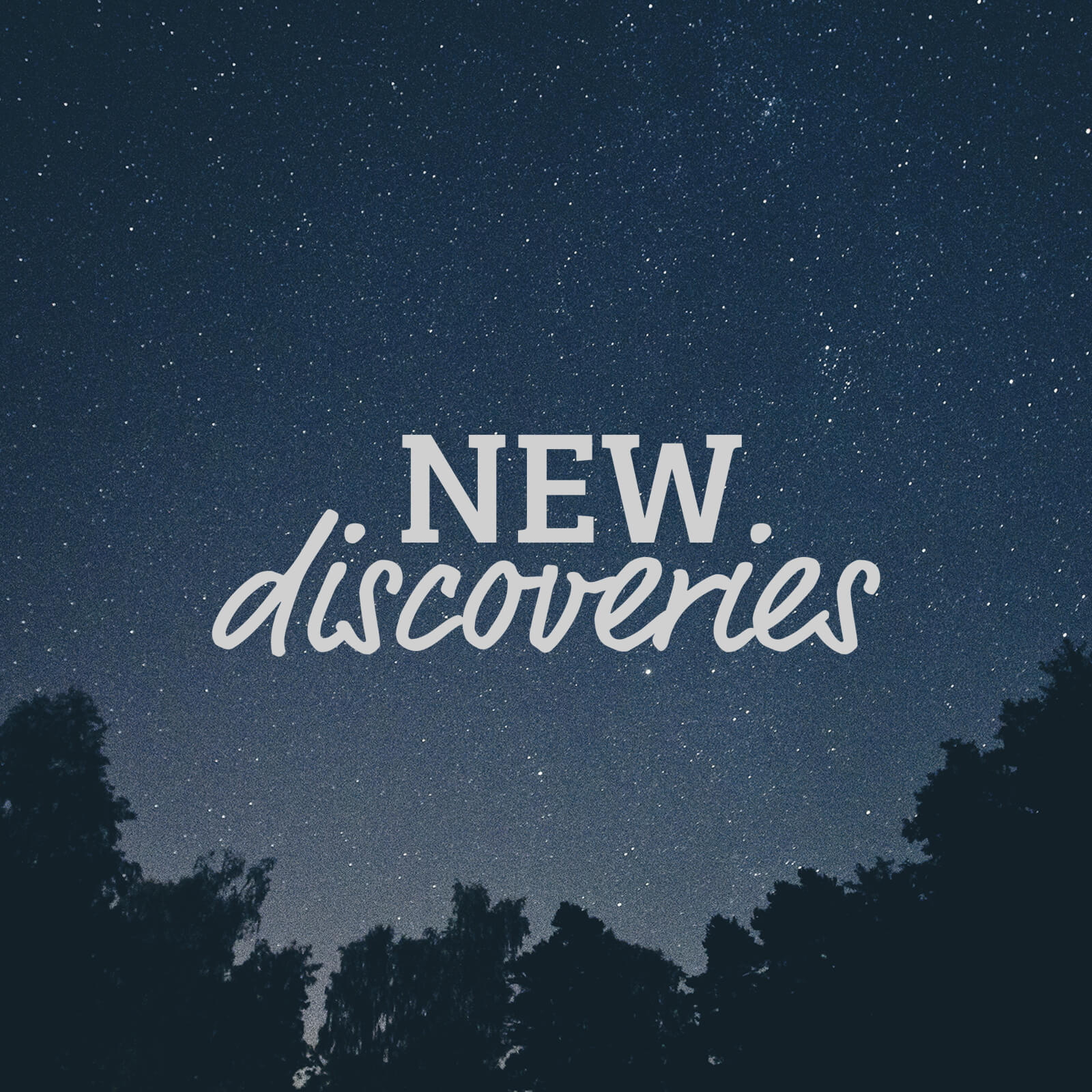 New Discoveries Playlist Cover