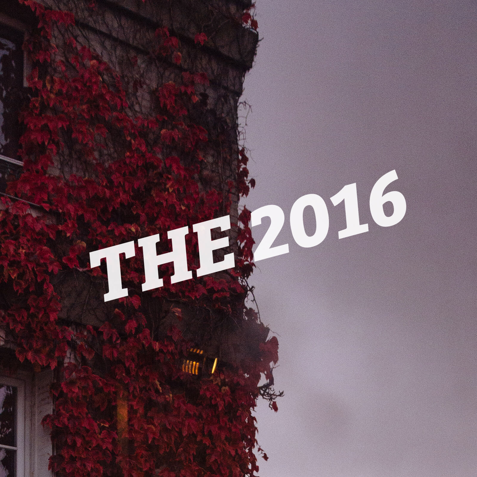 The 2016 Cover