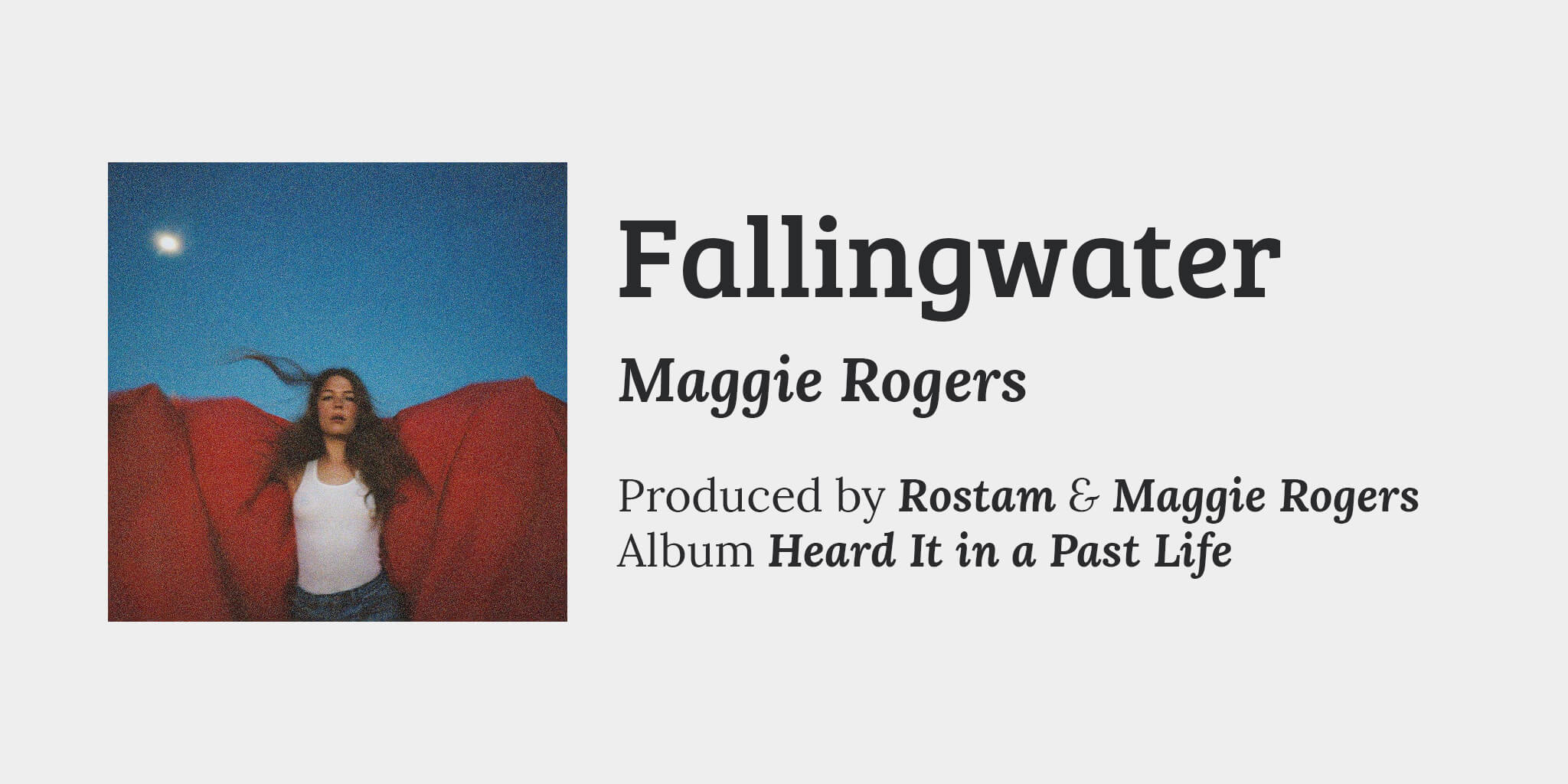 Song Info Fallingwater