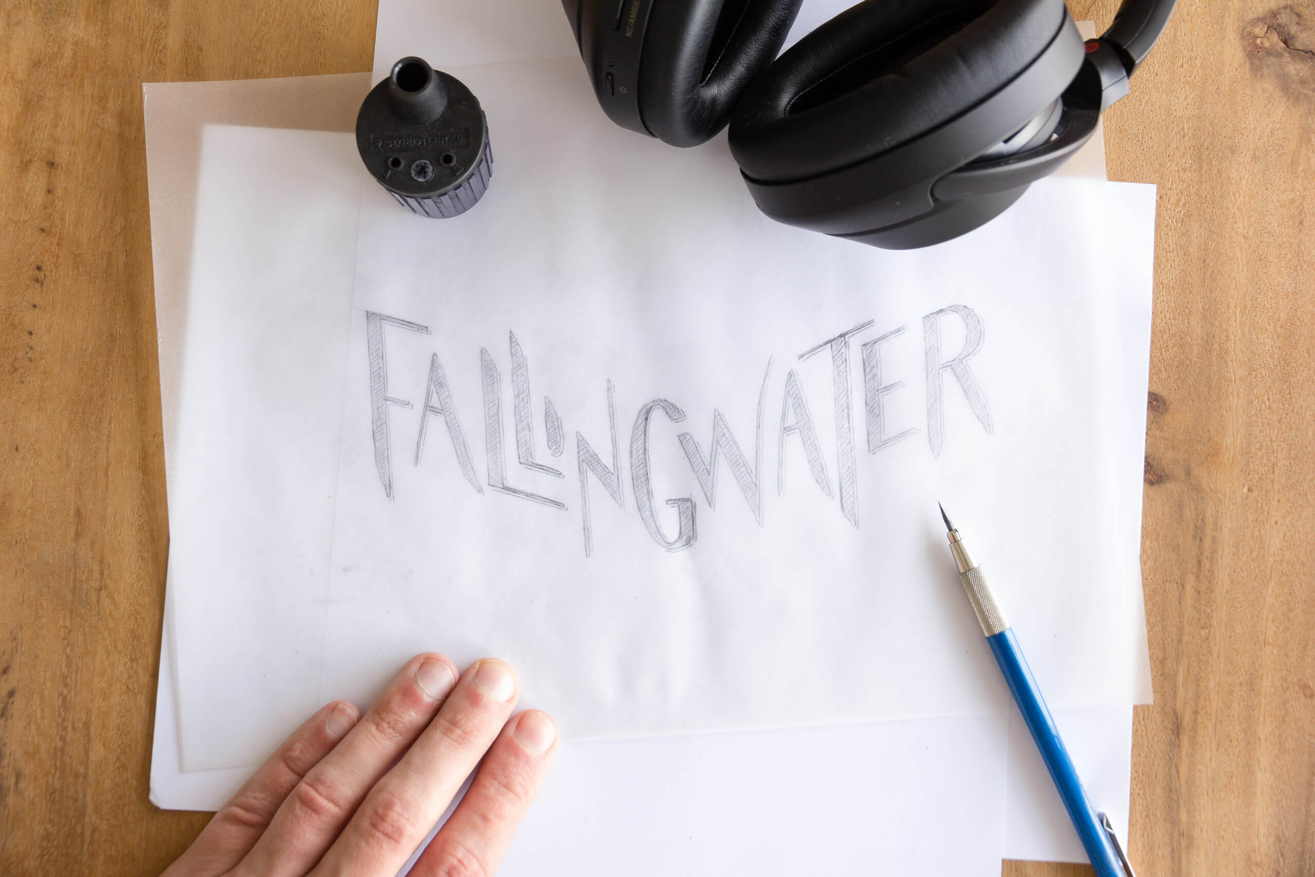 Fallingwater final sketch