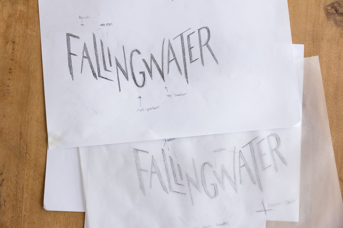 Fallingwater iterations