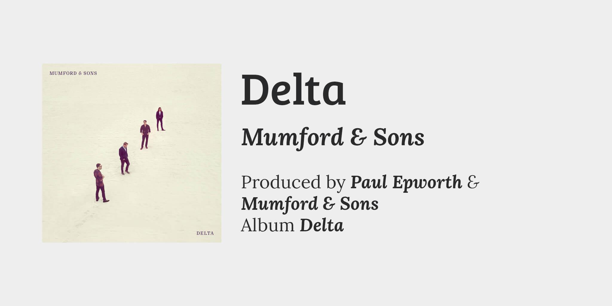 Delta song info